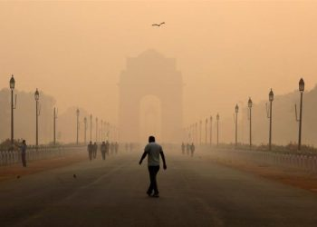 New Delhi is one of the most polluted cities in the world.