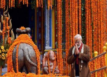 PM offers prayers at Kedarnath