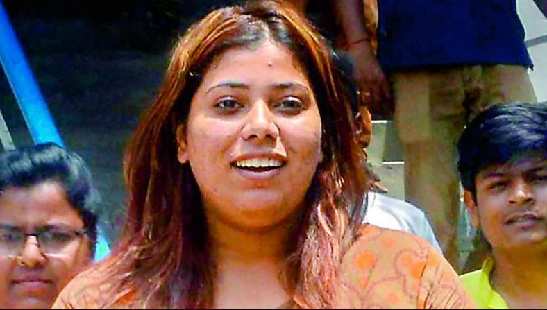 She was released at 9.40 am from the Alipore jail after five days following a Supreme Court order.