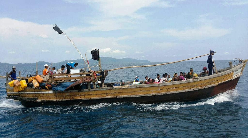 Police in Pekua said 67 Rohingya Muslims from Kutupalong -- the largest refugee settlement in the world -- were stopped as they waited to board a fishing trawler. (Representational image)