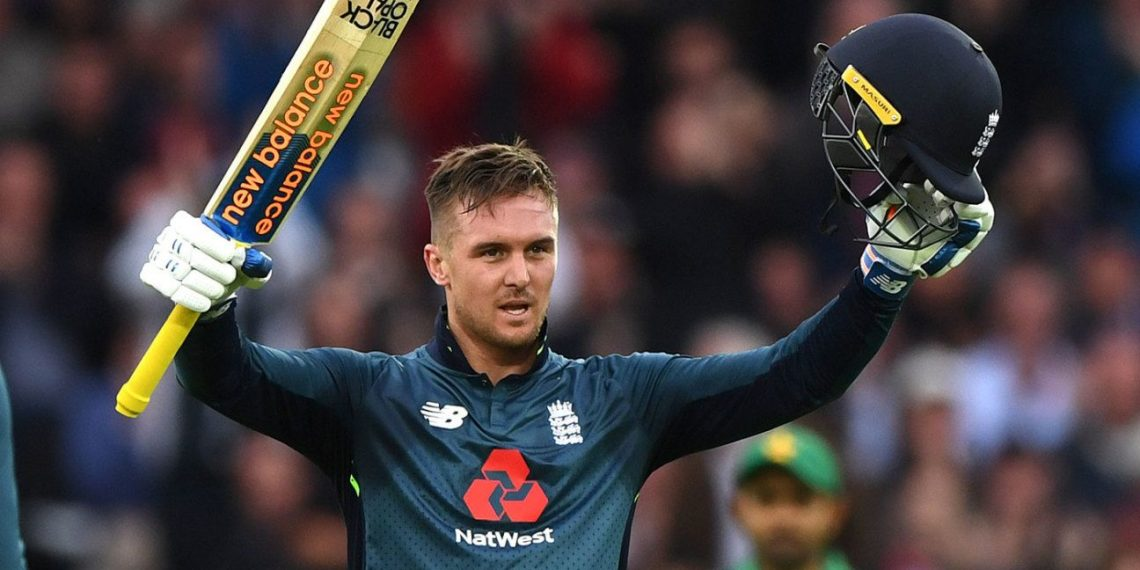Roy's superb 114 was the centrepiece of England's chase as they beat Pakistan at Trent Bridge Friday to go 3-0 up with one to play in a one-day international series.