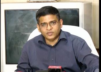 File pic of SJTA chief administrator Pradipta Mohapatra.