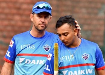 Shaw played for IPL franchise Delhi Capitals under two former slippers -- coach Ponting and team advisor Ganguly.