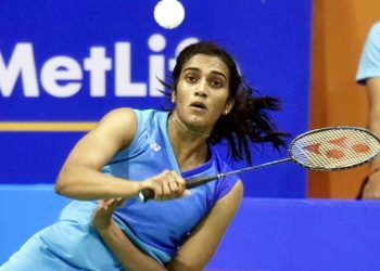 PV Sindhu won her singles match against her Malaysian opponent