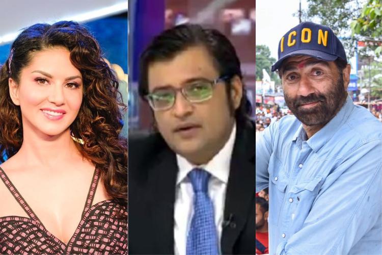 Twitter in splits as Arnab refers Sunny Deol as Sunny Leone