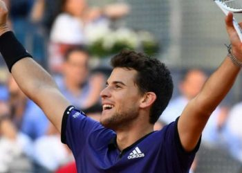 Thiem, the 2018 Roland Garros runner-up and winner of the Barcelona title last month, prevailed in two hours 10 minutes against Federer.