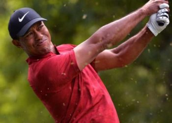 The 43-year-old American superstar's electrifying triumph last month at Augusta National has made him the focus of attention at formidable Bethpage Black, the same course where Woods won the 2002 US Open.