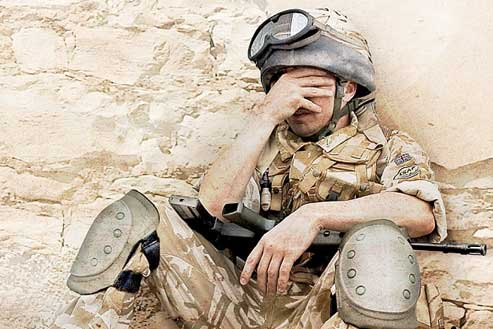 Many former soldiers claim to be suffering from PTSD, depression and anxiety.