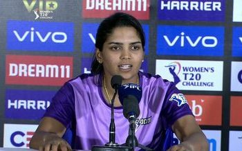 Krishnamurthy's Velocity lost to Supernovas by 12 runs Thursday in a women's T20 Challenge match.