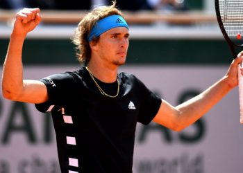 German fifth seed Zverev, a quarter-finalist in 2018, battled past Australia's John Millman 7-6 (7/4), 6-3, 2-6, 6-7 (5/7), 6-3 in a shade over four hours.