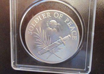 The Dag Hammarskjold medal