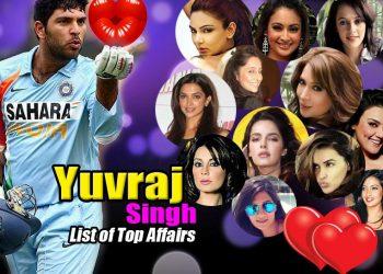 Long list of Yuvraj Singh's girlfriends before his marriage