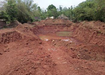 Illegal murram mining under admin's nose