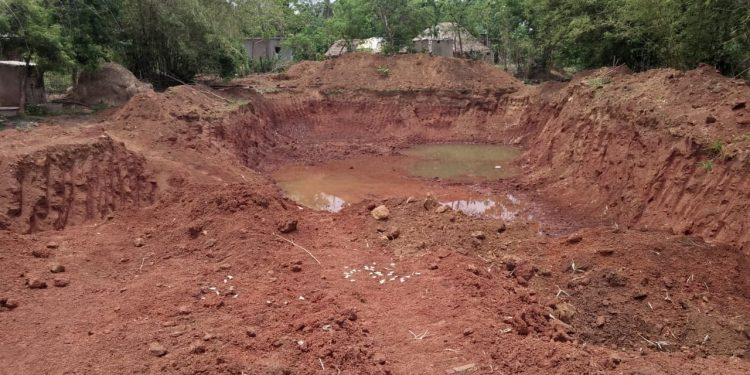 Illegal murram mining under admin's nose