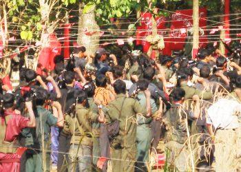 Reds' posters trigger panic across Baliguda