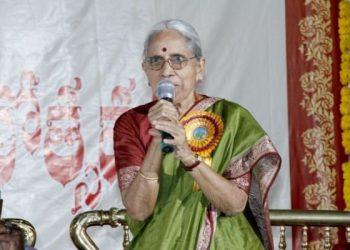 Abburi Chaya Devi passed away at the age of 86