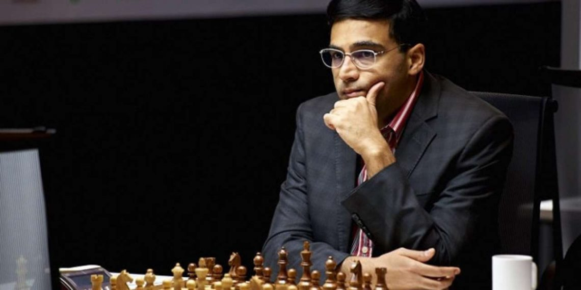 Anand is currently placed at the bottom alongside Lagrave with half a point each.