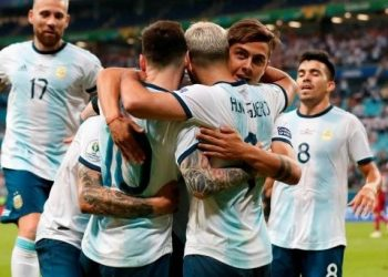 Argentina now sit in second place in the group and will go up against Venezuela in the quarterfinals in Rio de Janeiro June 28.