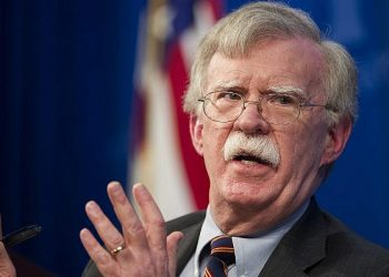 Bolton's tough message seemed to be aimed not only at Tehran, but also at reassuring key US allies that the White House remains committed to maintaining pressure on Iran.