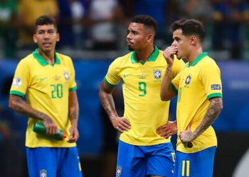 Brazil left the field to boos but remain top of Group A with four points from two games, and one game to play.
