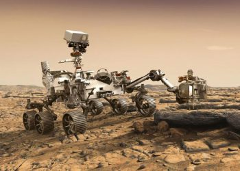 The Curiosity Mars rover