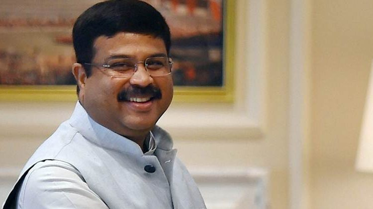 File pic of Union minister for Petroleum & Natural Gas and Steel Dharmendra Pradhan