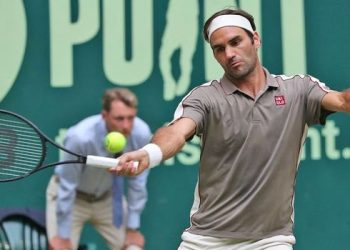 Federer said he felt for the defeated Tsonga, who returned to the tour this year after a seven-month absence due to a knee operation in 2018.