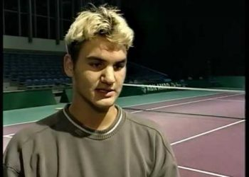 Federer, the world junior number one in 1999 but 103 in the ATP rankings during Wimbledon, crashed out in round one in three of his first four appearances at the tournament.