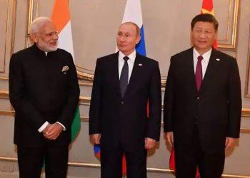 Modi, Xi and Russian President Vladimir Putin met at the recently held Shanghai Cooperation Organisation (SCO) summit at Kirgiz capital Bishkek.