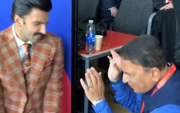 In a video that went viral, Gavaskar was seen singing and dancing to Shammi Kapoor's hit song 'Badan Pe Sitare' along with Ranveer.