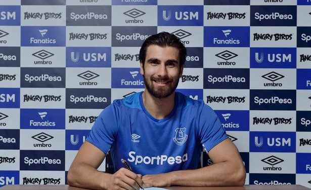 The 24-year-old Portuguese international makes a permanent move to Goodison Park after a loan spell there last season.
