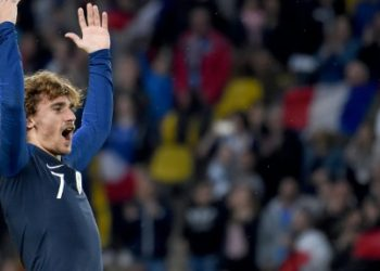 Griezmann moved eighth on the list of France's all-time leading scorers with his 29th goal as he surpassed 1998 World Cup winner Youri Djorkaeff.
