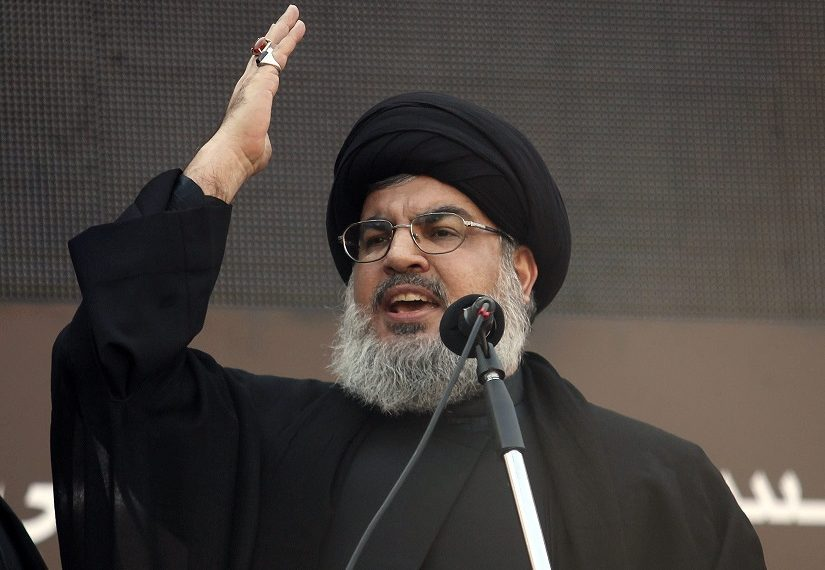 Nasrallah Friday also slammed a proposed US peace deal to end the Israeli-Palestinian conflict that Trump has dubbed 'the deal of the century'.