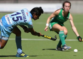 Laura Foley gave Ireland the lead the 10th minute on Saturday before India scored in the third and fourth quarters through Reet (35th) and Sharmila Devi (53rd).
