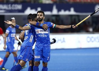 After thrashing Russia 10-0 in their tournament-opener, world no. 5 India scrapped past 21st ranked Poland 3-1 in the second match.