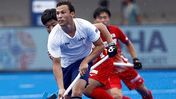 The match between world no. 18 Japan and world no.35 USA witnessed a hard-fought first two quarters but both the teams failed to break the deadlock till half-time.
