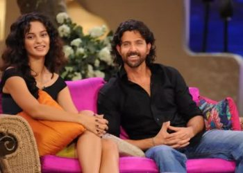 When times were good: Hrithik Roshan and Kangana Ranaut