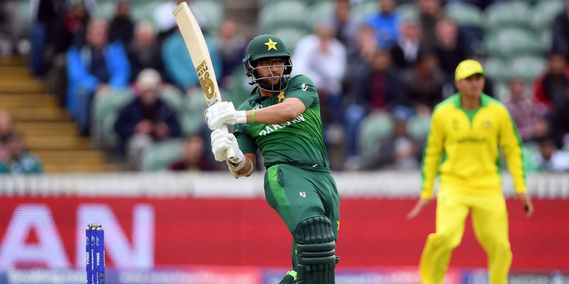 Imam-ul-Haq plays a pull shot during the game against Australia, Wednesday