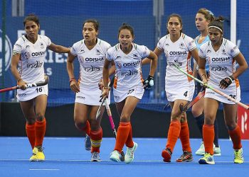 The Indian women eked put a hard fought win over the Asian champions at the Hiroshima Hockey Stadium.