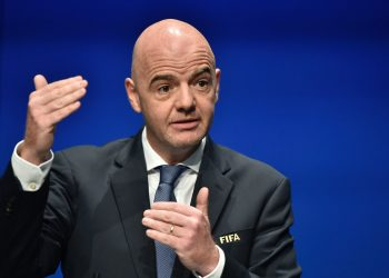 The 49 year-old, who took charge of FIFA in February 2016 after the departure of the disgraced Sepp Blatter, stood unopposed for a new four-year term which will run until 2023.