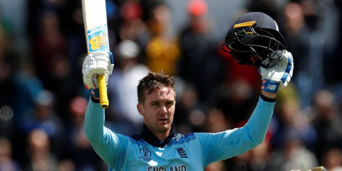 Jason Roy scored 153 as England posted 383 on board.