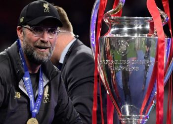 A beaming Klopp revealed after Saturday's 2-0 final victory over Tottenham Hotspur in Madrid that he had received a congratulatory phonecall from Manchester City coach Pep Guardiola.