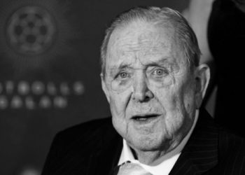 Sweden's soccer association said the former UEFA president died Tuesday after a short illness.