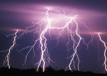 According to the weather office, lightning strikes occur in the state during the June-September monsoon season.