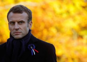 Macron's criticism at an opening event for the Women's World Cup was delivered in front of UEFA President Aleksander Ceferin, who told The Associated Press it was 'clear interference of politics in sports'.