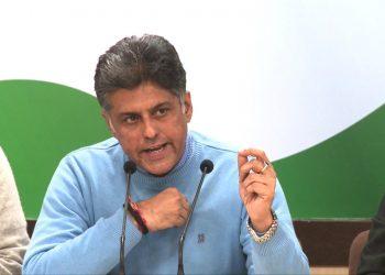 Manish Tewari. File pic