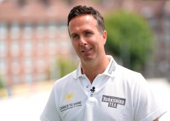 Michael Vaughan. File pic