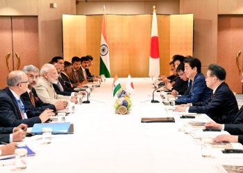 It was the first meeting between the two leaders since the start of Japan's Reiwa era and Modi's re-election after the general polls.