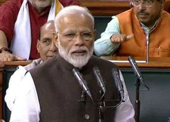 Before taking oath as a member on the first day of the 17th Lok Sabha, Modi said the role of an 'opposition and an active opposition is important in a parliamentary democracy'.