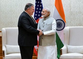 Pompeo conveyed greetings of US President Donald Trump to Prime Minister Modi and congratulated him on his electoral victory.